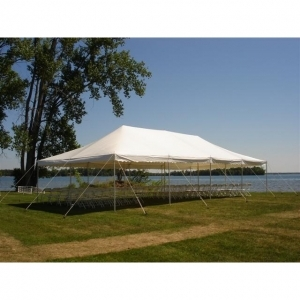 Aztec Tents ATC 20x40x7 Translucent White Canopy