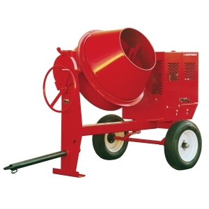 6 Cubic Foot Gas Concrete Mixer