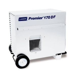 L.B. White Premier 170DF Portable Forced Air Ductable Unit Heater