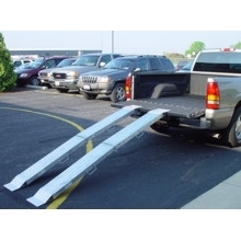 BilJax 8' Aluminum Folding Ramp