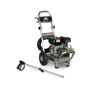 SHARK ALUMINUM 2.5 @ 2700 HONDA GX200 COLD WATER DIRECT DRIVE PRESSURE WASHER