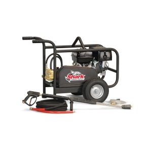 SHARK 3.7 @ 3500 HONDA GX390COLD WATER BELT DRIVE PRESSURE WASHER