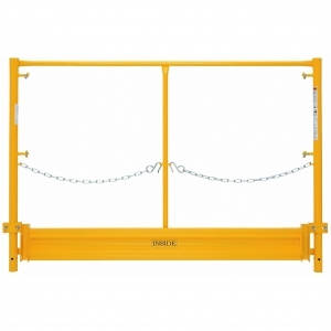 BilJax 5' End Panel Guard Rail