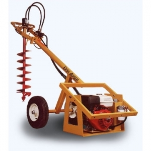 GROUND HOG - EASY AUGER II ONE-MAN HYDRAULIC EARTH DRILL