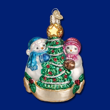 Snowman Christmas Couple