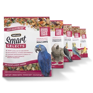 ZuPreem® Smart Selects™ Caged Bird Food