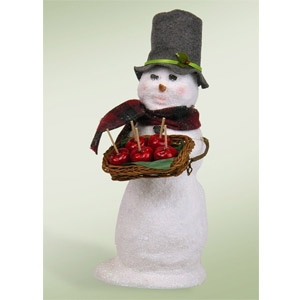 2014 Snowman with Candy Apples