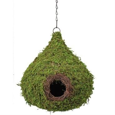 Woven Raindrop Birdhouses