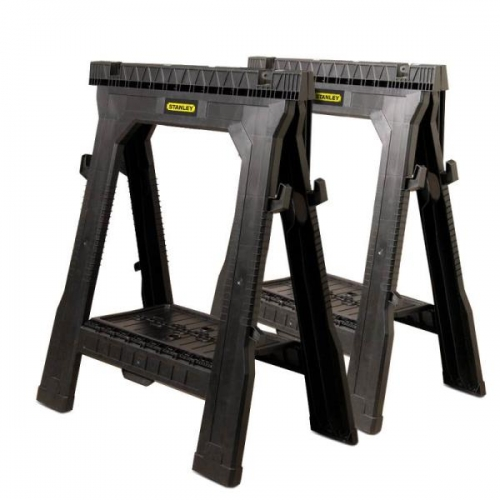 Stanley Folding Saw Horse 2 Pack