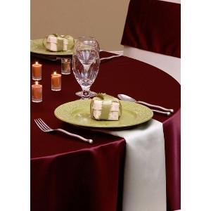 Satin Table Linen