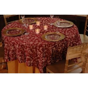 Elegant overlay Table Linen