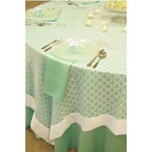White Ringlets Table Linen