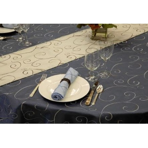 Nova Swirl Table Linen