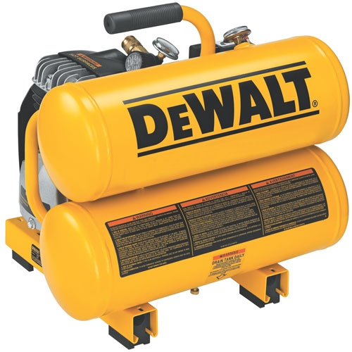 Dewalt® 1.1 HP Continuous 4 Gallon Electric Hand Carry Compressor