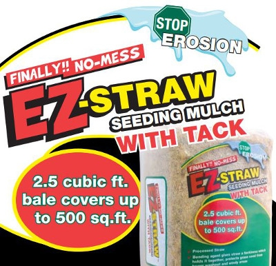 Rhino Seed & Landscape Supply's EZ-Straw Seeding Mulch with Tack