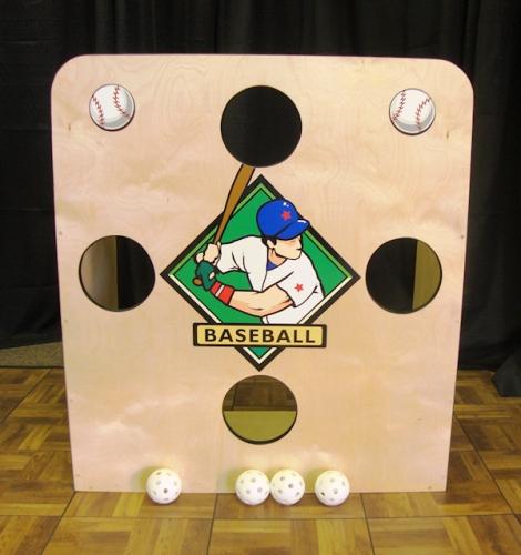 Baseball Toss Yard Game