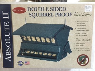 Absolute II Squirrel-Resistant, Double Sided Bird Feeder