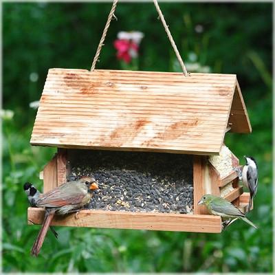 Perky Pet The Lodge, Wild Bird Feeder