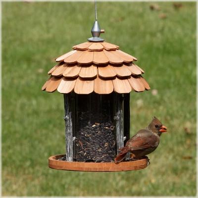 Perky Pet's Birdscapes Gazebo Wood Bird Feeder