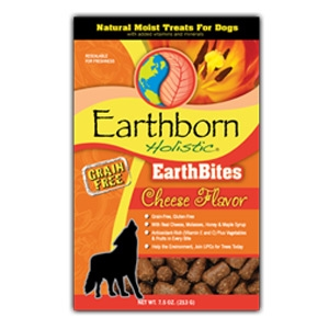 Earthborn Holistic EarthBites Cheese Flavor Natural Moist Treats For Dogs