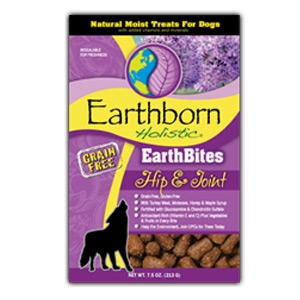 Earthborn Holistic EarthBites Hip & Joint Natural Moist Treats For Dogs
