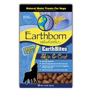 Earthborn Holistic EarthBites Skin & Coat Natural Moist Treats For Dogs