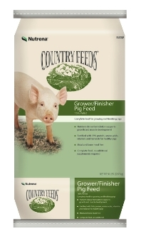Country Feeds® Grower Finisher Pig Feed-16% Pellet-50 lbs