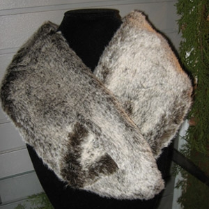 Fur Wrap by Simply Noelle