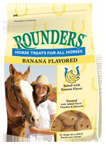 Blue Seal® Banana Flavor Rounders Horse Treats