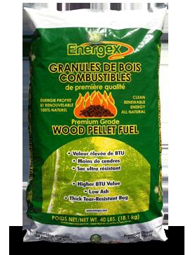 Pellet Stove Wood Pellets-40 lbs