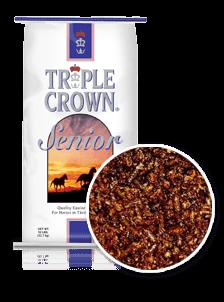 Triple Crown Senior Horse Feed Formula-50 lbs