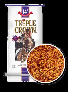 Triple Crown 14% Performance Horse Feed-50 lbs