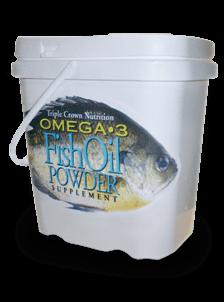 Triple Crown Fish Oil Powder Horse Supplements