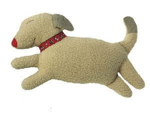 Leaping Dog Cuddle Toy - Christmas Collection