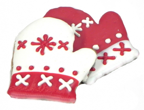 Winter Mitten Cookies