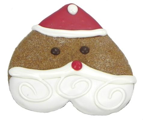 Santa Heart Cookies
