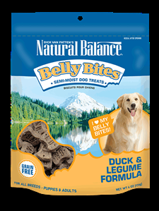 Natural Balance Belly Bites Duck & Legume Formula