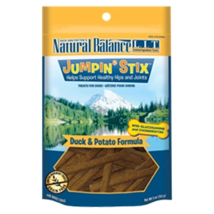 L.I.T. Jumpin' Stix - Duck & Potato Formula Dog Treats