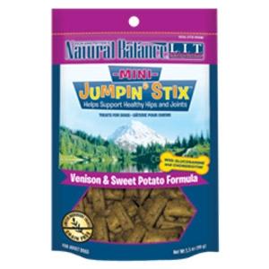 L.I.T. Mini Jumpin' Stix Venison & Sweet Potato Formula Dog Treats