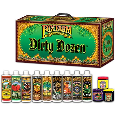 Fox Farms Dirty Dozen Fertilizers