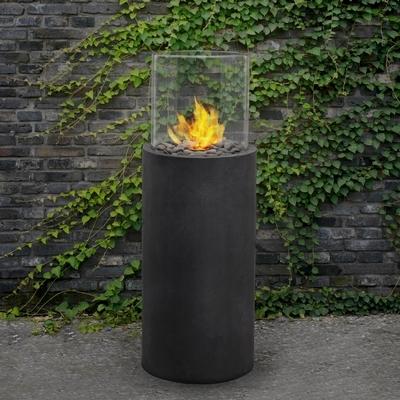 Real Flame 870 Modesto Fire Column