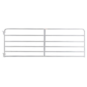 Tarter 6 Bar Economy Galvanized Tube Gate