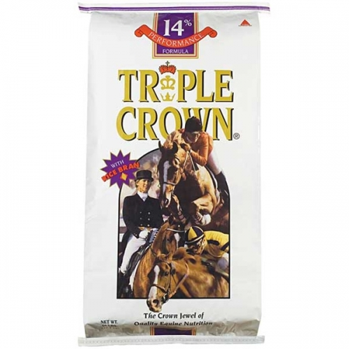 Triple Crown® 14% Performance Textured Horse Feed