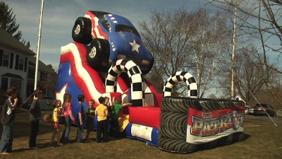 Kids Inflatable Bounce House Slide Rental