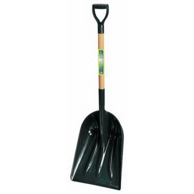 SnoZone 14-Inch Poly Scoop with D-Handle