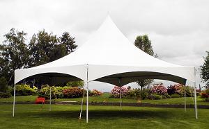 Tent, 35'x40' Hex, Peak