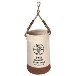 KLEIN LEATHER-BOTTOM BUCKET-SWIVEL SNAP 5104S