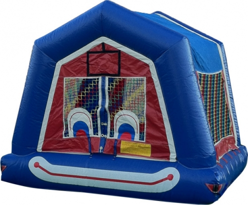 Clown Face Bounce House