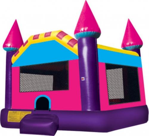 Pink Purple Party Castle