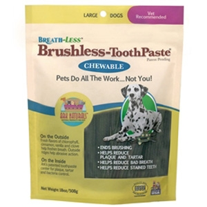 Ark Naturals Breathless Brushless Toothpaste for Large Dogs